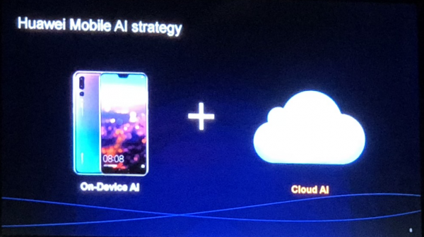 Huawei on-device et Cloud